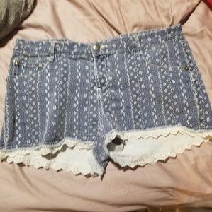 Betsey Johnson Denim Shorts
